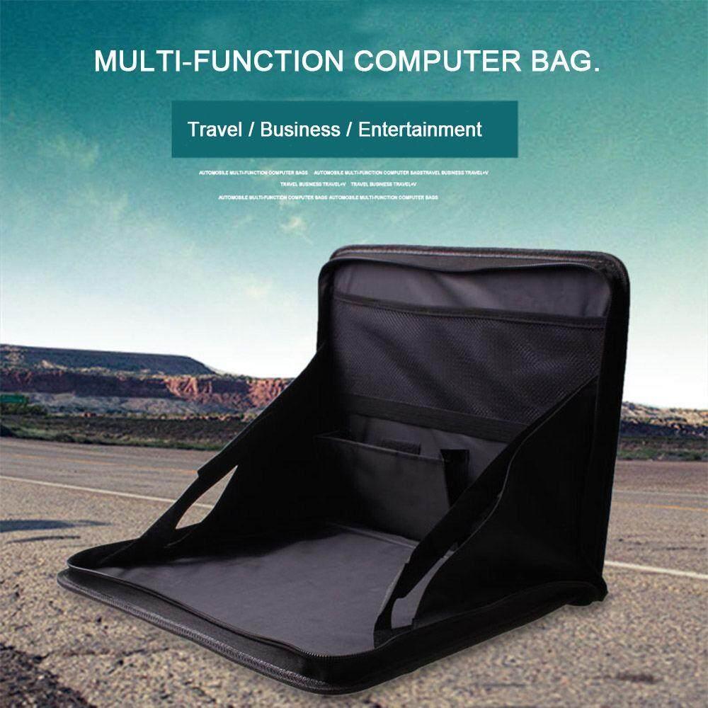 Watson Auto car folding laptop holder computer desk mount car multifunctional grocery bags storage box