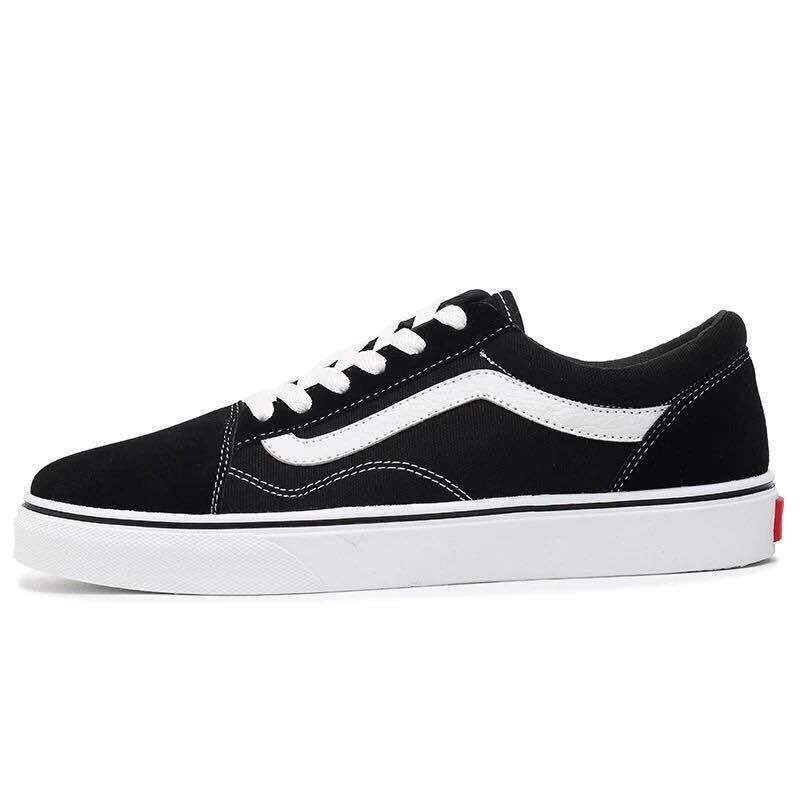 ae660ec0ba 2019 New VANS Old Skool low-top CLASSICS Unisex MEN S   WOMEN S Shoes  Sports Weight