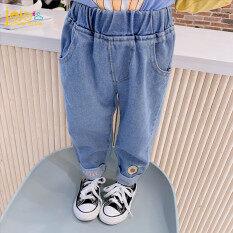 Quần jean dài dành cho bé gái chất liệu mềm thoải mái Jojo Adventure