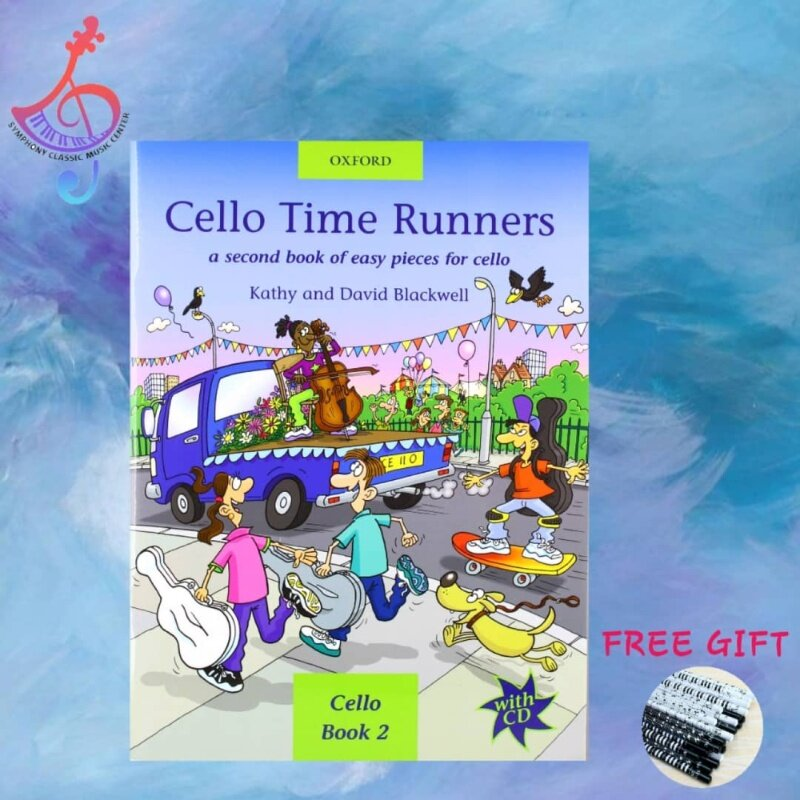 Cello Time Runners + CD Malaysia