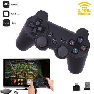 Máy Tính Chơi Game Không Dây Cần Điều Khiển Cho PS3 TV Box Tay Cầm Chơi Game 2.4G Từ Xa, Phụ Kiện Cho PC Win 7 8 10 thumbnail
