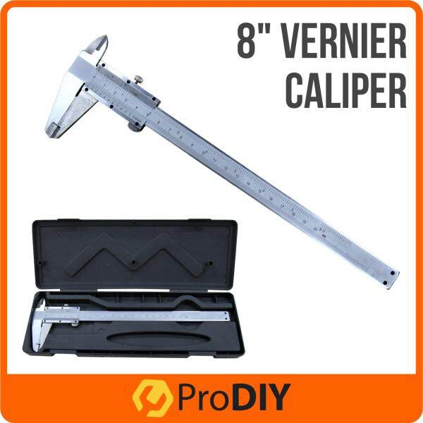 8 20cm Vernier Caliper for Inside, Outside, Depth and Step Measurements