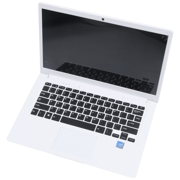 14.1 inch Hd Lightweight and Ultra-Thin 2+32G Lapbook Laptop Intel Z8350 64-Bit Quad Core 1.92Ghz Windows 10 2Mp Camera(White) Uk Plug Malaysia