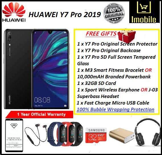 ✨ Huawei Y7 Pro 2019✨ [3RAM+32GB] Free Gifts ORIGINAL HUAWEI MALAYSIA