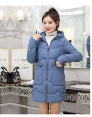 2020 Mùa Đông Phụ Nữ Mới Áo Khoác Áo Khoác Slim Parkas Nữ Xuống Bông Áo Khoác Chùm Đầu Dày Áo Khoác Jacket Ấm Lỏng Giản Dị Áo Khoác Sinh Viên