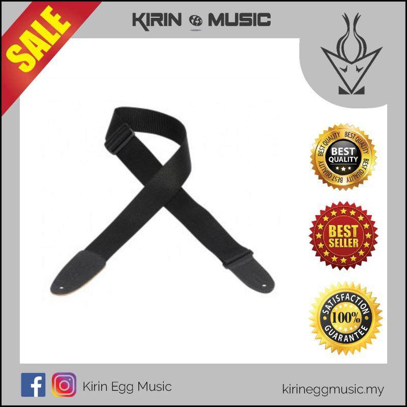 Punks Guitar Strap, Adjustable 65-130cm ,Black, Suitable for all guitar types Malaysia