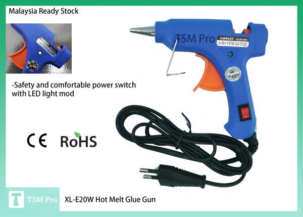 XL-E20W Hot Melt Glue G U N/ P i s t o l Gam Lebur Panas