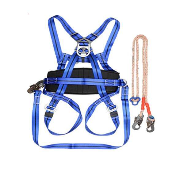 【BUY MORE SAVE MORE】Camping Outdoor Hiking Rock Climbing Half Body Waist Support Safety Belt Climbing tree Harness Aerial Sports Equipment