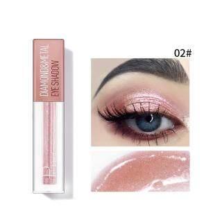 Tomoll Pemanjangan Bulu Mata Penjepit Pada Eyeshadow Cair Metalik Gliter Eyeliner Gel Tahan Lama Kosmetik Mata 4Ml thumbnail
