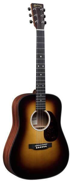 Martin DJr-10E Burst Spruce Dreadnought Junior Semi Acoustic Guitar with Fishman Sonitone (Gig Bag Included) Malaysia