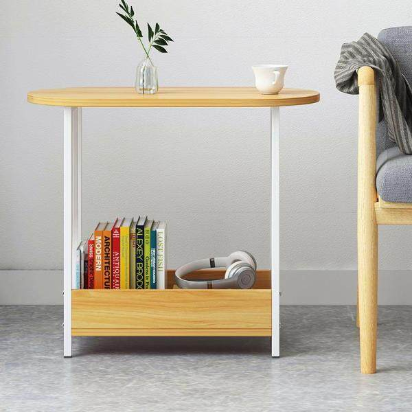 Side Table End Table Bedside Table for Living Room Bedroom Home Office 60*29*52 CM by Olive Al Home