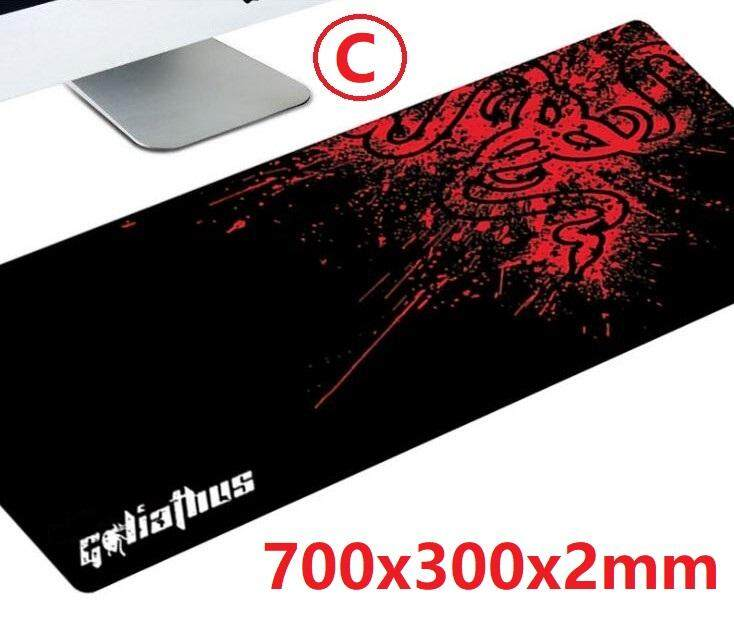 COOL Large Gaming Mouse Pad Computer 700x300x2mm , 800x300x2mm Malaysia