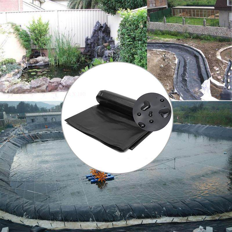 1.6*2M HDPE Pond Liner Heavy Duty Landscaping Garden Pool Waterproof Liner Cloth