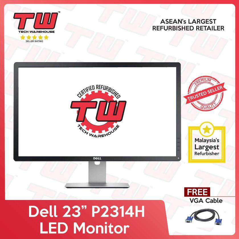 Dell 23 P2314H LED Monitor (Factory Refurbished) Malaysia
