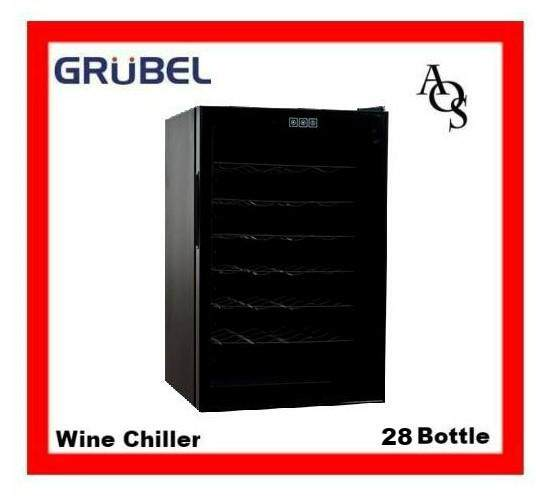 Grubel Wine Storage Cabinets Gwc-Tp28bk (free Standing /slot In) By Appliances Online Sale.