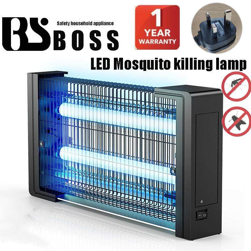 BSboss 6-01 Night Light Electronic Indoor Mosquitoes Insects Mosquito Killer Lamp Fly Bugs  LED 4W Power image on snachetto.com