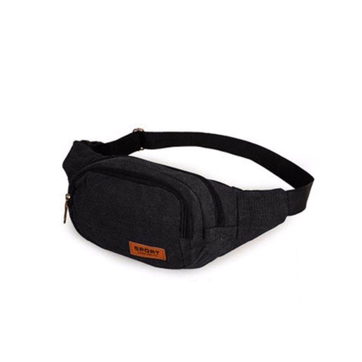 c2464bdf2e0 Casual Canvas Waist Bags Men and Women Funny Pack Men s Belt Bag Men Chest  Pack For