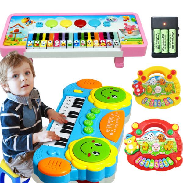 【Còn Hàng】 Nội Tạng Trẻ Em Âm Nhạc Vỗ Tay Trống Nhạc Cụ Piano Giáo Dục Mầm Non Đồ Chơi Trẻ Em Mới Bắt Đầu Từ 1-3 Tuần 2 Tuổi