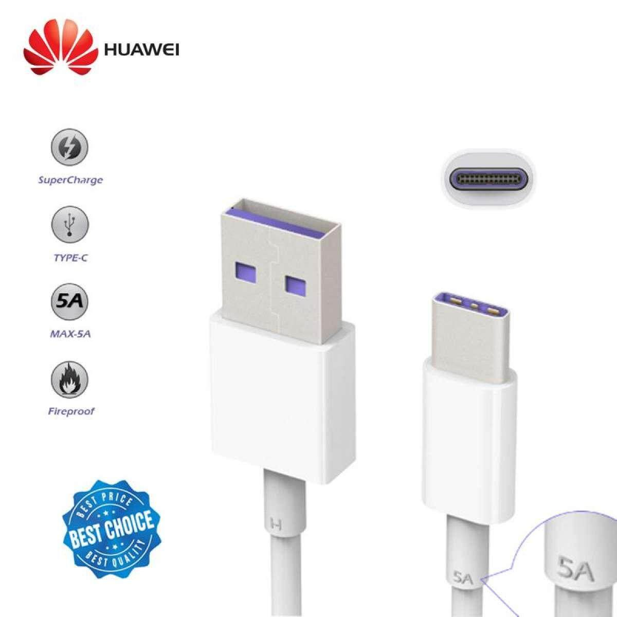 100% Original Huawei 5a Cable Super Charge Cable P10 P20 P30 Mate10 Mate20 Usb Type C 4.5v 5a Charging Data Sync Cable By Bojio News.