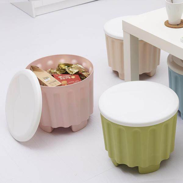 Color Stackable Storage Stool Multi-Function Storage Stool Baby Sitting Stool