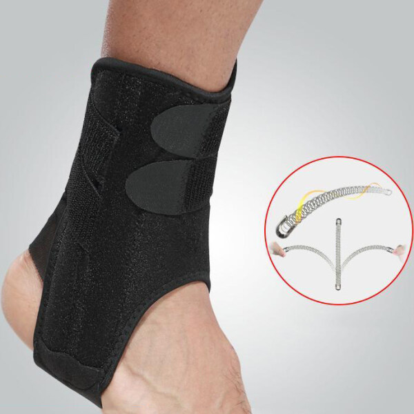 iHOME LIFE Ankle Support Braces Adjustable Ankle Corrector Pads Protection Ankle Protect Foot Sprain Prevention Breathable Running Splint Strap Injury Brace Pad Pain Support Elastic Sports Guard High Quality