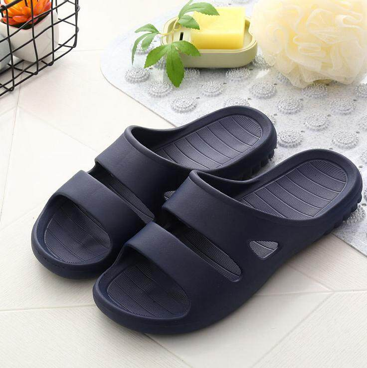 6d0a98bff839 Women Men Bath Shower Slipper Sandal Non-Slip Bathroom Shower Slipper Flip  Flops Indoor Beach