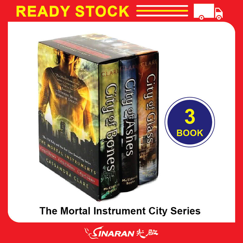 The Mortal Instrument City Series : Cassandra Clare (Set of 3 book) Malaysia