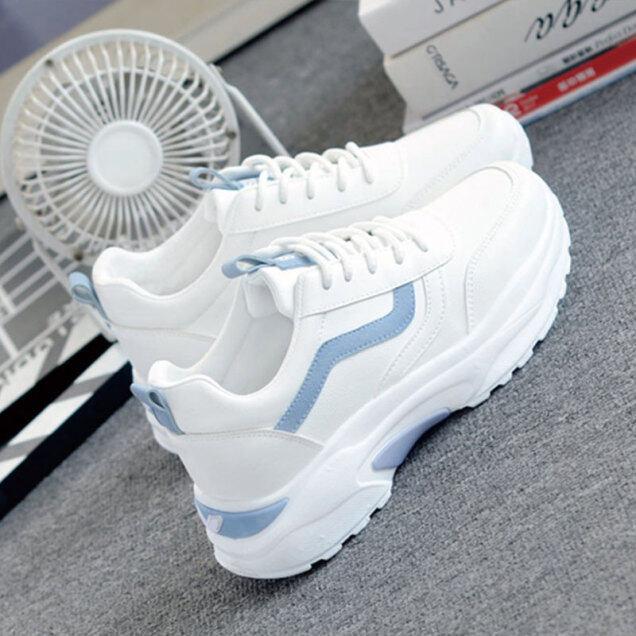 IQANGEL Giày Thể Thao Nữ Thoải Mái Thời Trang Hàn Quốc Phong Cách Mới giá rẻ