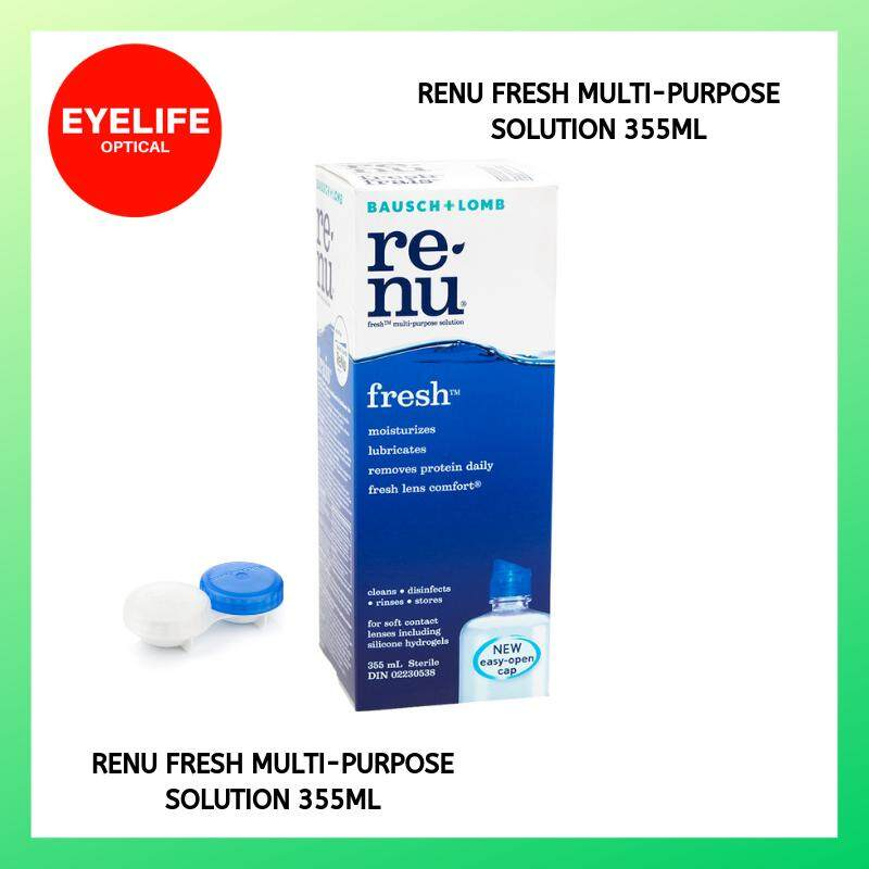 Renu Fresh Multi-Purpose Solution (355ml) / B&L Contact lens Solution