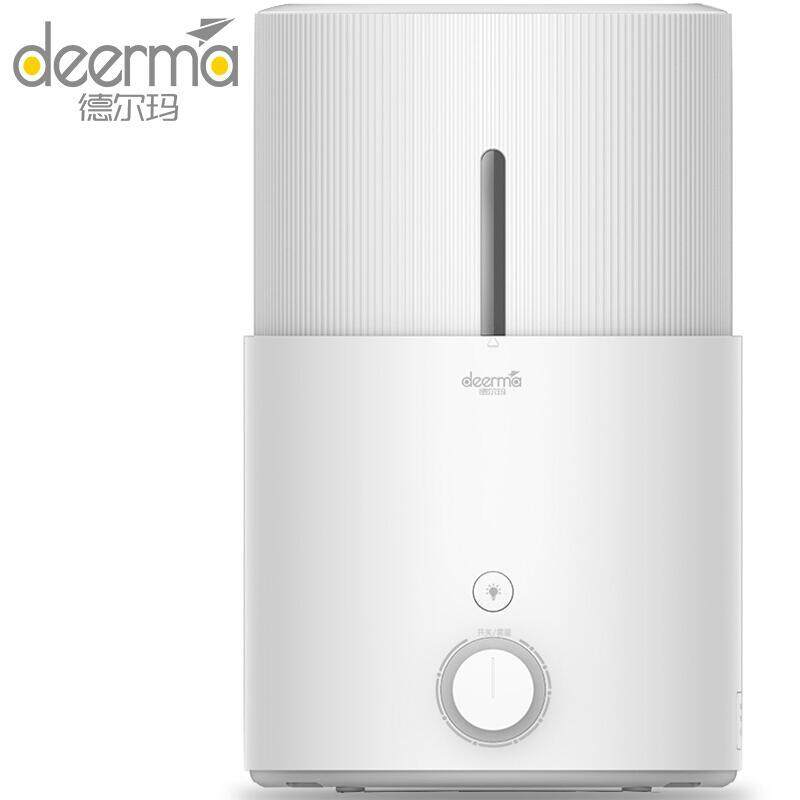 (Deerma) DEM-SJS100 humidifier 5L large capacity Bedroom office air humidification Conveniently add water Household purification humidifier mother and baby apply Singapore