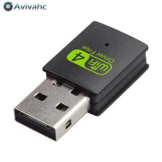 Card Mạng Băng Tần Không Dây Thẻ Mạng Ethernet WiFi Bộ Thu USB2.0 300Mbps Cho Máy Vi Tính thumbnail