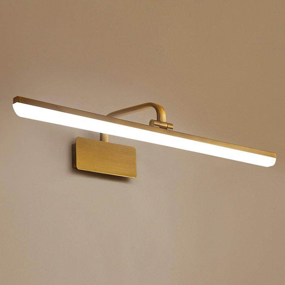 Best Sales American Style LED Toilet Bathroom Mirror Light Front Make Up Wall Lamp