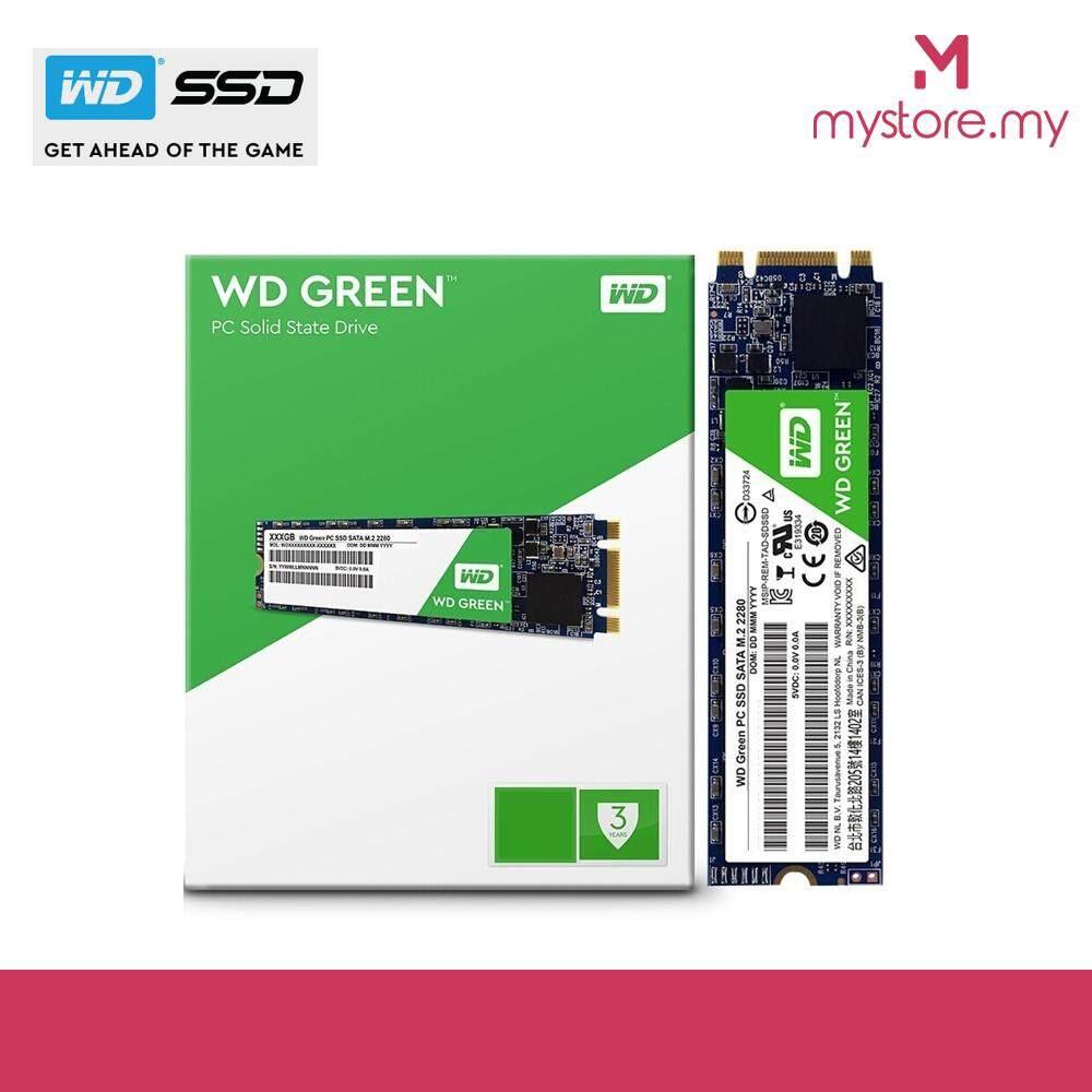 Western Digital 480GB (WDS480G2G0B) SATA M 2 2280 GREEN SSD