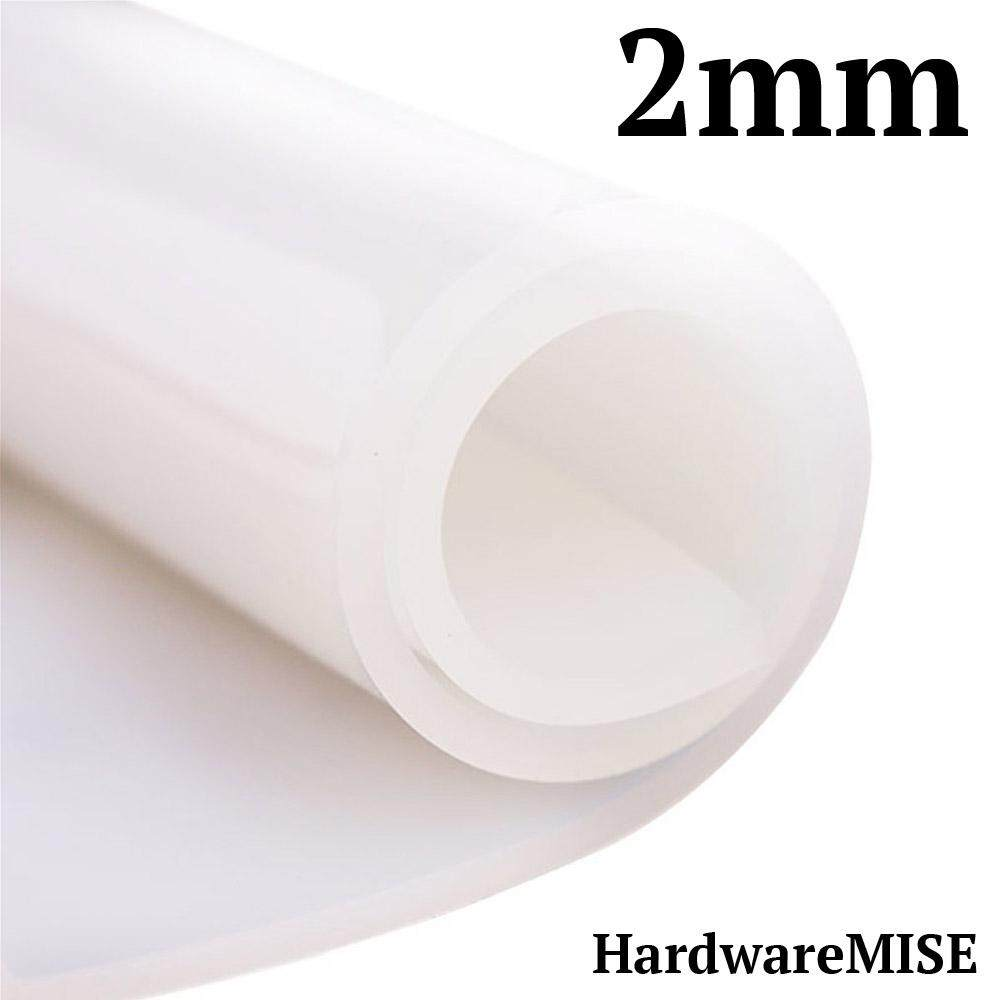 Silicone Rubber Sheet Translucent 2mm thick 1m Width