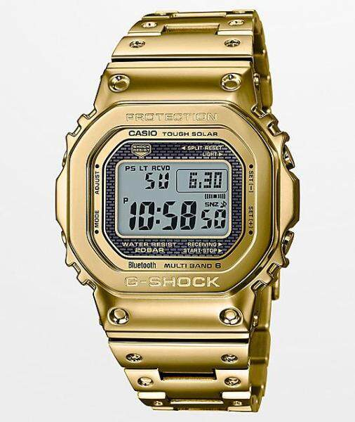 CASI0 G style Shock GMW B5000 Gold Full Metal Wrist Watch Malaysia