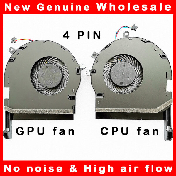 Free shipping Laptop cpu gpu cooling fan cooler radiator for Asus ROG TUF Gaming FX504 FX80 FX80G FX80GE ZX80GD FX8Q FX504GD FX504GE FX504GM Malaysia