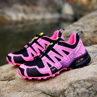 Women Outdoor SpeedCross3 Hiking Shoes Waterproof Wading Shoes Running Jogging Sneakers For Girls thumbnail