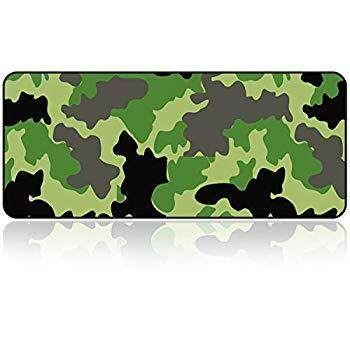 Large Gaming Mouse Pad with Nonslip BaseExtended XXL Size, HeavyThick, Comfy, Waterproof & Foldable Mat for Desktop, Laptop, Keyboard, Consoles & MoreEnjoy Precise (Camouflage Color) Malaysia