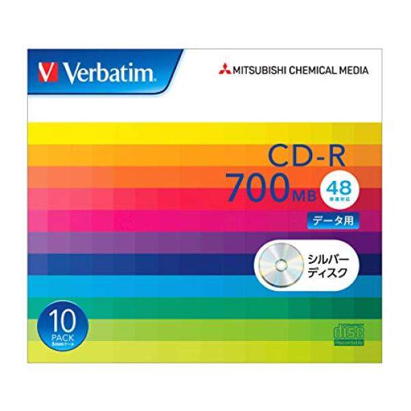 Verbatim Verbatim once recorded for CD-R 700MB 10 sheets silver disk 48x SR80FC10V1