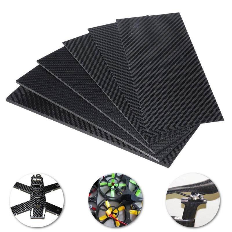 Tấm Bảng Sợi Carbon Màu Đen 100X 250x(0.5-5) Mm, Mờ Dệt Chéo