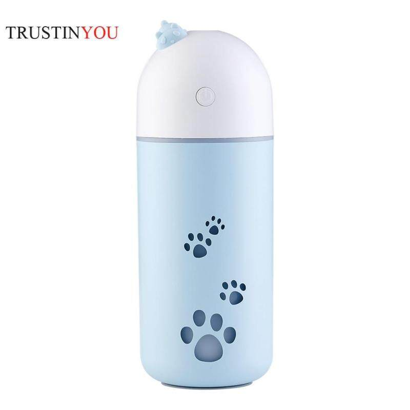 [trustinyou]Mini USB Cute Air Humidifier Silent Ultrasonic Diffuser Mist Maker Colorful Changing LED Night Light for Home Office Car Singapore