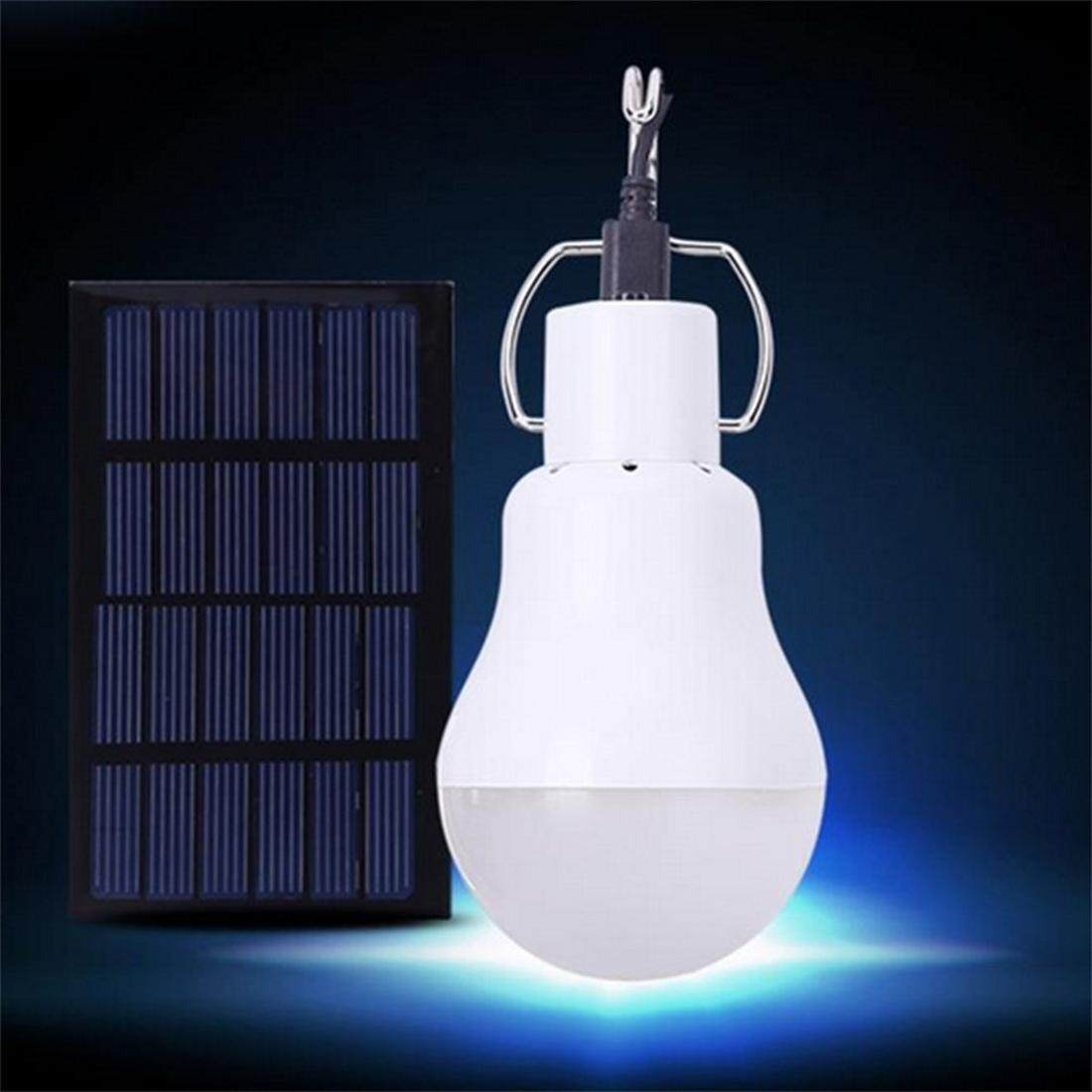 Portable Solar Powered LED Lamp Light for Housing Outdoor Activities Emergency