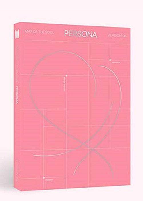 [4 ver] [Unfold poster] BTS - MAP of The Soul : Persona [Boy with Luv] 1 Album + All pre order benefits + 1 Rolled posters + Store gift photocard - kpop