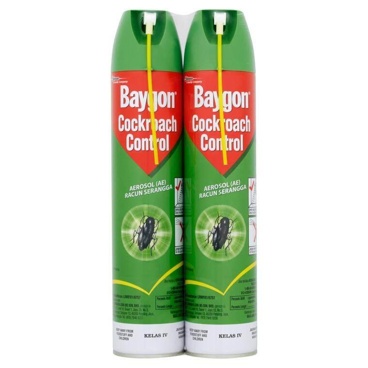 Baygon Spray cockroach& Fly Killer 570ml   Lazada