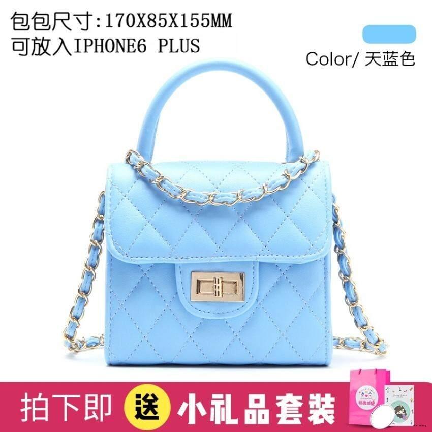 Eausasv Princess Messenger Bag Birthday Gift Children Bags Fashion Cute Girls Bags Baby Shoulder Handbag Chain Bag