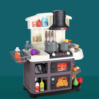 52 Món Đồ Chơi Nhà Chơi Cho Trẻ Em Đèn Bé Trai Bé Gái, Bộ Đồ Ăn Âm Thanh Nấu Ăn Đồ Chơi Mô Hình Mô Phỏng Nấu Ăn Nhà Bếp Đồ Chơi Vui Vẻ Trong Nhà Bếp thumbnail