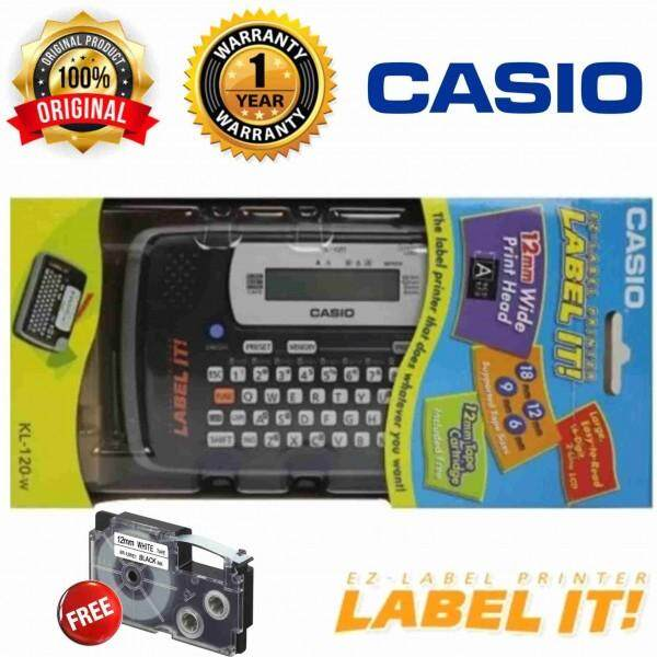 Casio EZ-Label Printer Label It (Handle 6-18mm width Label Tapes)