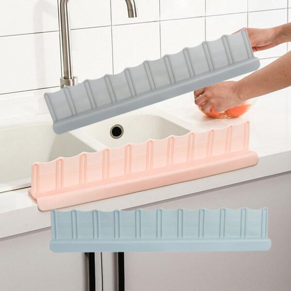 OKDEALS Bathroom Washing Splatter Kitchen Gadgets Organizer Shelf Sink Board Splash Guard Water Baffle Sucker
