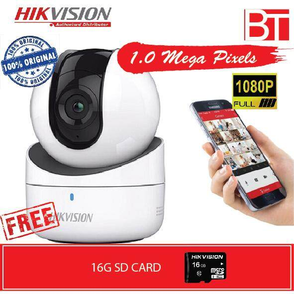 Hikvision Q1 1.0 Mega Pixels Network Camera (ds-2cv2q01efd-Iw) By Bt Marketing