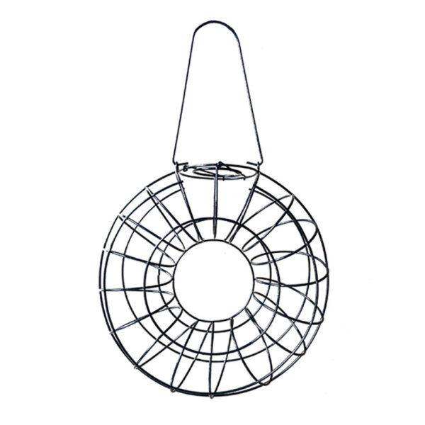 [Newkits] Dụng Cụ Nạp Thức Ăn Cho Chim Phổ Biến Lưới Cho Ăn Dây Sắt Vòng Tròn Sóc Bằng Chứng Bên Ngoài Treo Đồ Ăn Nhẹ Vườn Thú Cưng